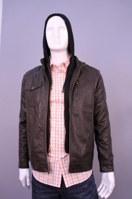 SKU#JO8998 Jackets & Outwear Brown $199