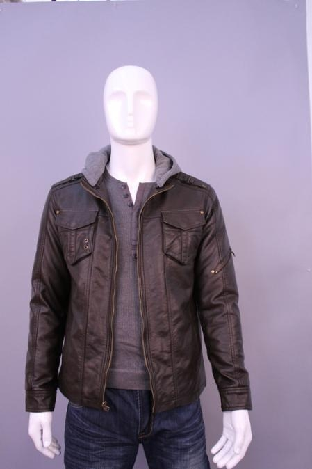 SKU#QS0125 Jackets & Outwear Brown $199