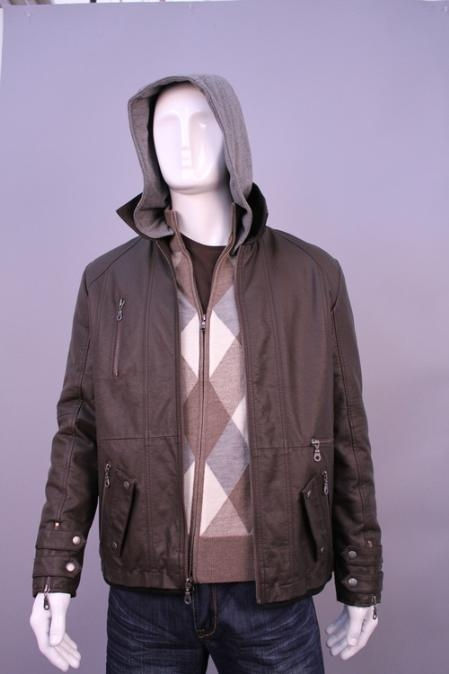SKU#LK6998 Jackets & Outwear Brown $199