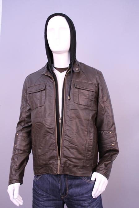 SKU#HI2856 Jackets & Outwear Brown $199