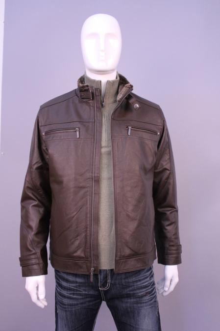 SKU#YI1021 Jackets & Outwear Brown $139