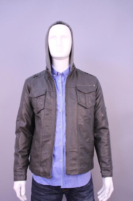 SKU#JM0147 Jackets & Outwear Gray $199