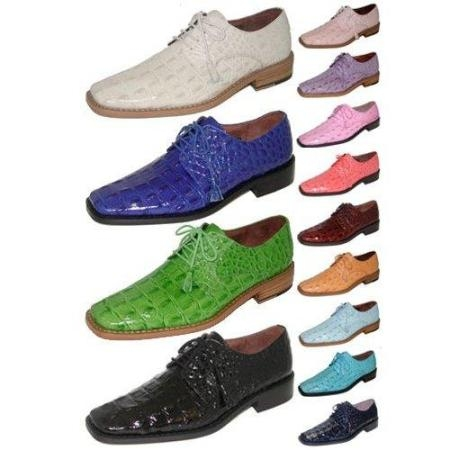 SKU# EGO790 15773 leather Exotic Matching Shoes Sold With Zoot Suits Only AS a Package $99