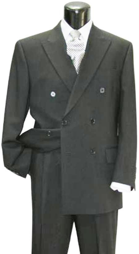 MensUSA.com DPP lower quality 6 on 2 Closer style Double Breasted Suit(Exchange only policy) at Sears.com