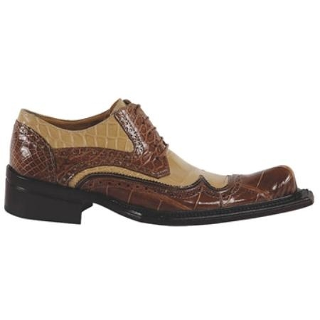 SKU#KE5619 Mauri Camel Genuine Body Alligator $960