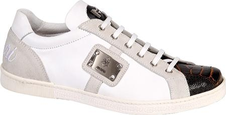 SKU#BW4091 Mauri White Nappa Leather/Ostrich Leg/Nubuck White $304