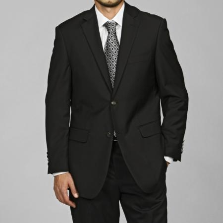 Black 2-Button Blazer Sport