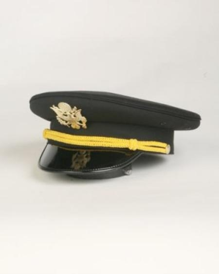 SKU#US4333 Mens Black Cadet Hat $49