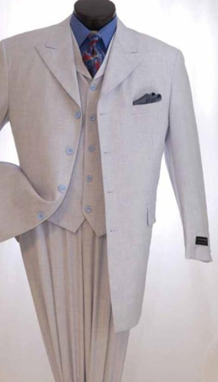 SKU#NS146 Mens High Fashion 3pc Suit $139