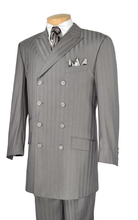 SKU#RR9921 Mens Luxurious 2 Piece Fashion Suit Gray $175