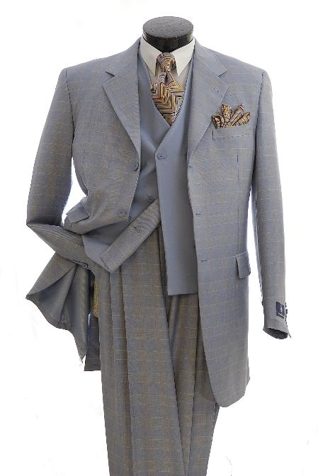 SKU#TW3478 Mens Stylish Zoot Suit $799