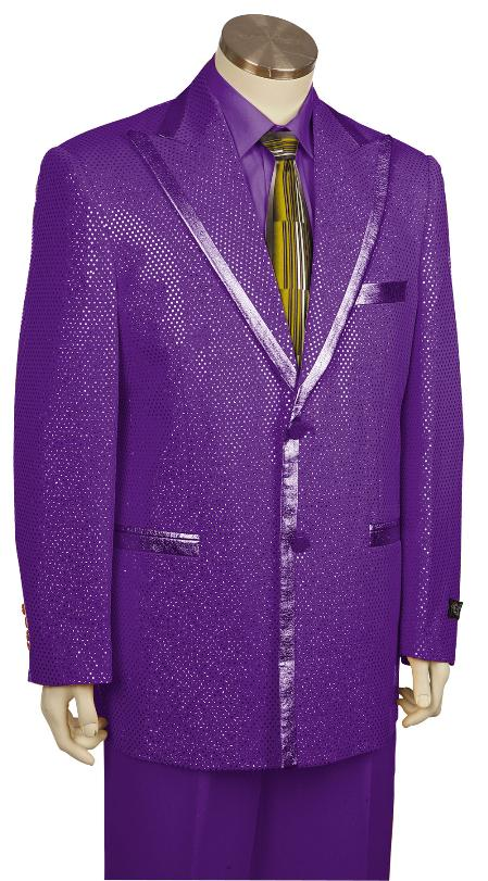 SKU#GY8169 Mens Stylish Zoot Suit Purple $175