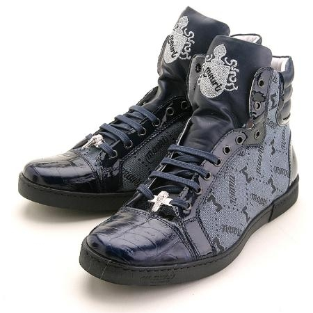 SKU#KX2907 Navy Genuine Crocodile $329