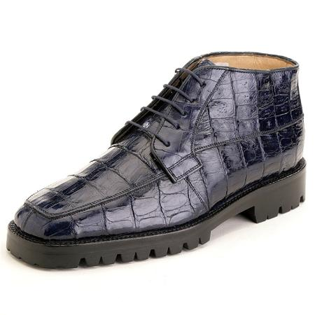 SKU#QG3992 Navy Genuine Crocodile $479