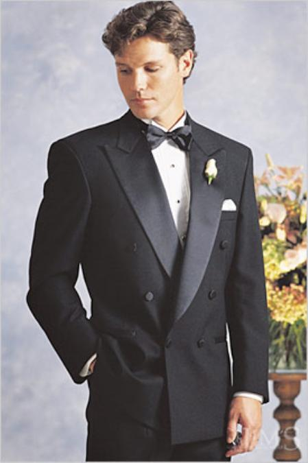Double Breasted Style DB-TUX Tuxedo