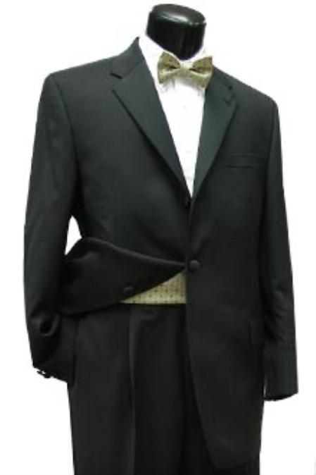 3 Button Style Tux