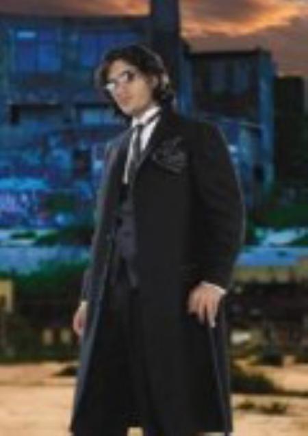 Black Tuxedo Zoot sutis