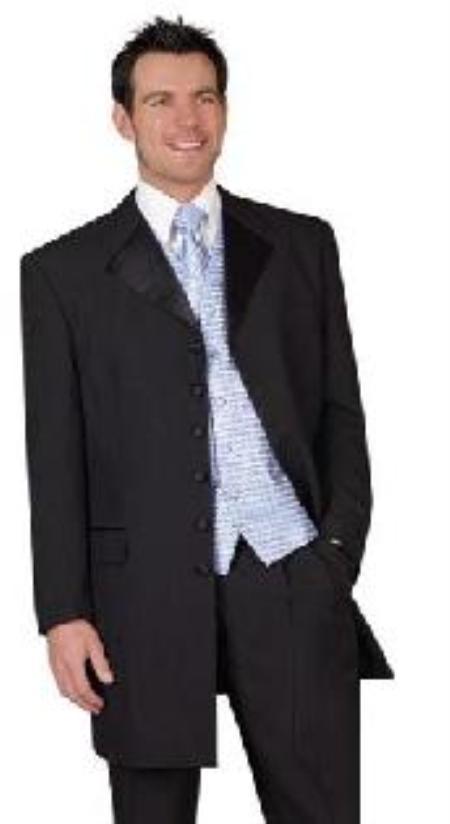 Long Tuxedo Zoot Suit