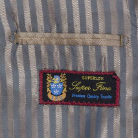 2-button Front Vested Suit