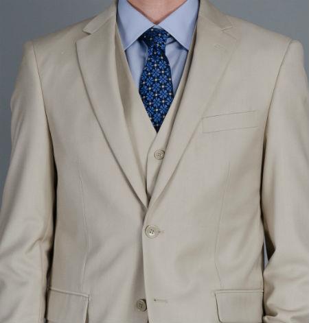 2-Button Vested Suit