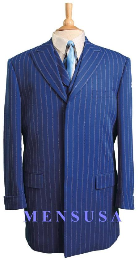 43FC-2 Royal Blue Pinstripe