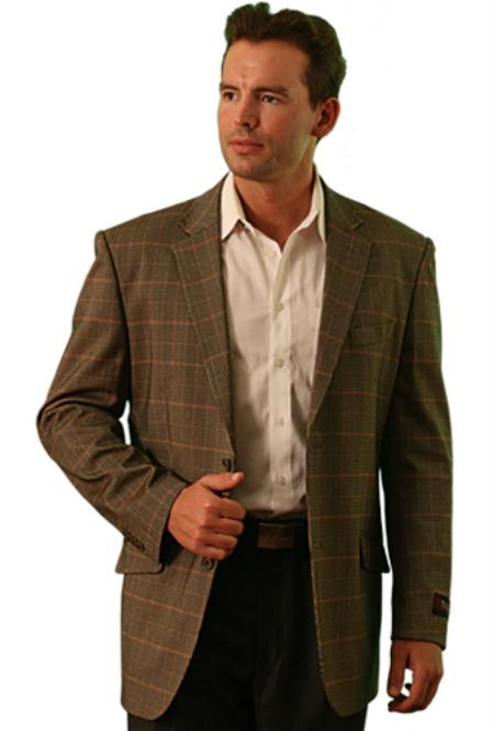 SKU#HZ8821 Tazio Two Button Blazer Beige $89