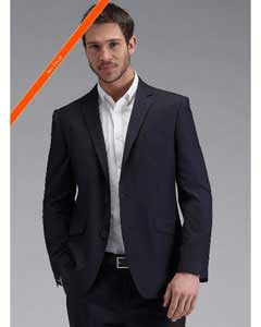 Button Slim Fit Dark