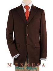 ~ Three buttons Front Jacket Four On Sleeves Fully Lined Suit