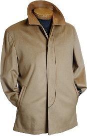 Camel Wool Coat $249