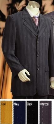 Piece Pinstripe High Fashion