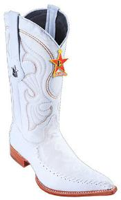 Leather White Los Altos