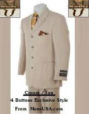 4 Button Cream /
