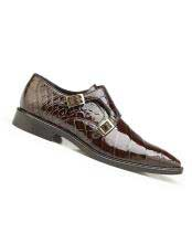 Mens Genuine World Best Alligator ~