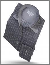 Collar Shirt Grey