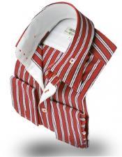 Collar Shirt Robert Red