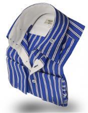 Collar Shirt Robert Blue