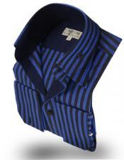 Collar Shirt Rumba Blue