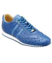 Blue Lace Up Genuine