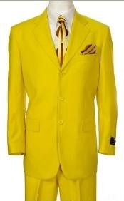 Beautiful Mens Bright Yellow