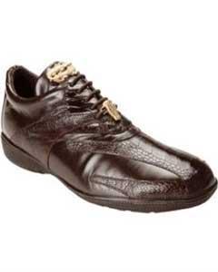 Ostrich & Calfskin Sneakers