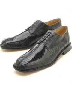Mens Grey Genuine Ostrich