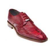 Belvedere Topo Hornback & Lizard Dress Shoes Red
