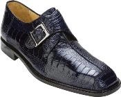 Dolce - Navy Ostrich