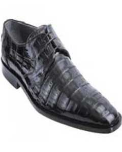 Black Genuine All-Over Crocodile ~ World Best Alligator ~ Gator Skin Belly Shoes