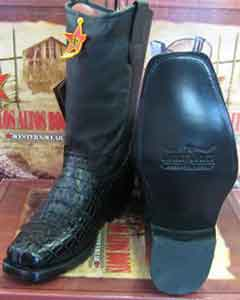 Crocodile ~ Motorcycle Boot World Best Alligator ~ Gator Skin Tail