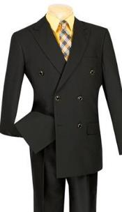 Double Breasted Suits Jacket Black Vinci Mens Best Cheap Priced Blazer