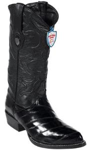 West Black Eel Cowboy Boots