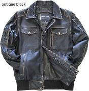 Leather Bomber Jacket Cowhide Brown Black Distressed Hand Treatment tanners avenue jacket
