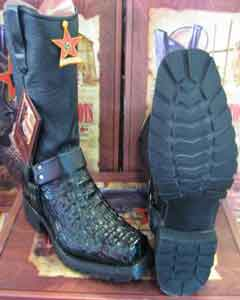Altos Genuine Crocodile ~ World Best Alligator ~ Gator Skin Black