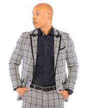 Trim Looking Blazer ~ Sport Coat